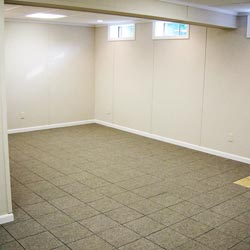 A beautiful finished basement room in Port Angeles