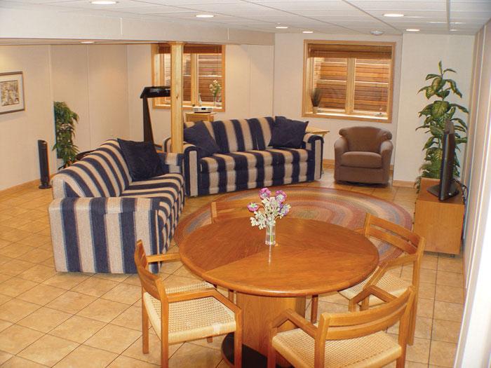 Superb ThermalDry® Basement Flooring   Basement Floor Tiles ...