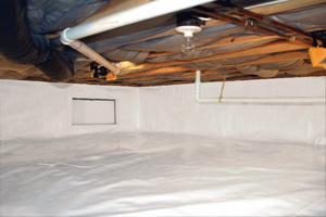 Crawl Space Repair After in Bremerton